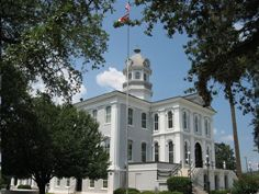 Thomas County Courthouse in Thomasville, Georgia